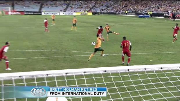Holman retires from Socceroos