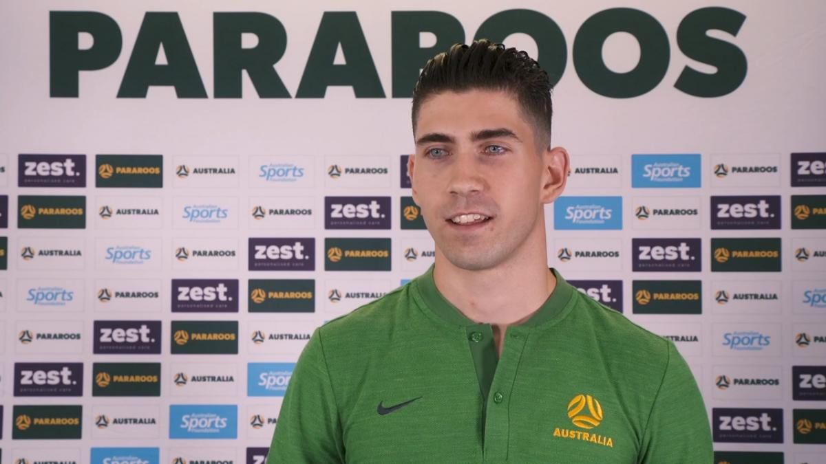 Pararoo Augustine Murphy: doctors said I may not walk again, now I'm representing Australia