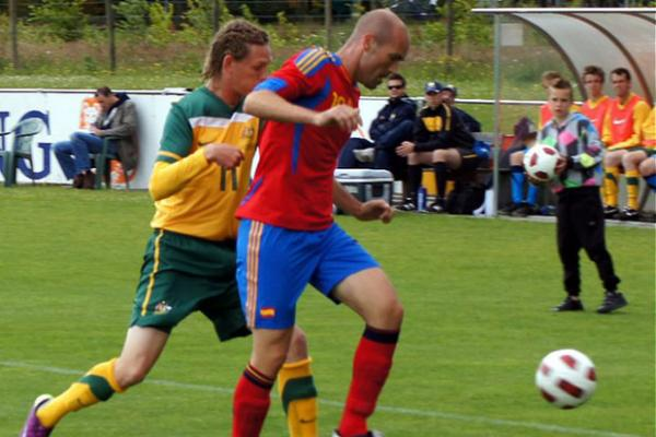 Pararoos beat Spain
